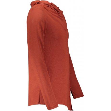 Pánské triko s dlouhým rukávem OMBRE AB1010 CAMEL