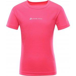 Dětské funkční triko ALPINE PRO HOTO 2 KTSR162 RŮŽOVÁ