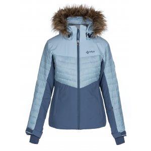 Dámská zimní bunda KILPI BREDA-W LL0020KI SVĚTLE MODRÁ