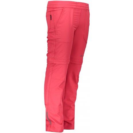 Dětské softshellové kalhoty/kraťasy ALPINE PRO PANTALEO 4 KPAR131 RŮŽOVÁ