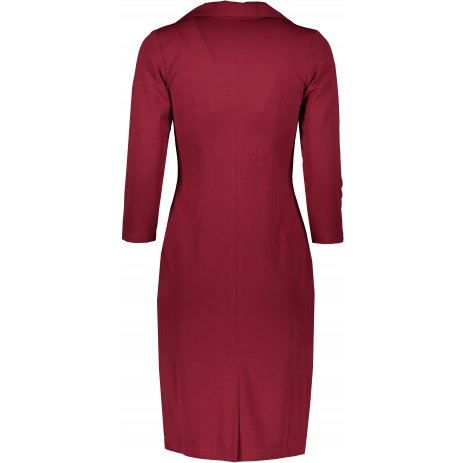 Dámské šaty NUMOCO KELLY A237-2 BORDO