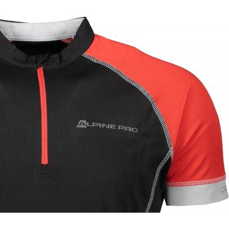 Pánské funkční triko ALPINE PRO SORAN MTSR351 ČERNÁ
