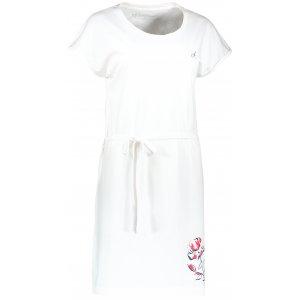 Dámské šaty ALTISPORT ALWILDA LSKR251 BÍLÁ