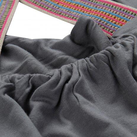 Dámské šaty ALPINE PRO ZELDA LSKR224 ŠEDÁ