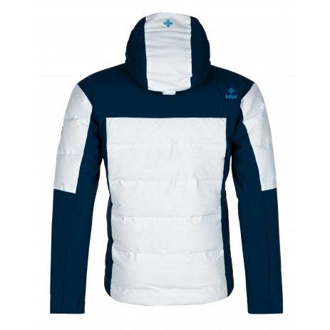 Pánská zimní bunda KILPI TEDDY-M LM0036KI BÍLÁ