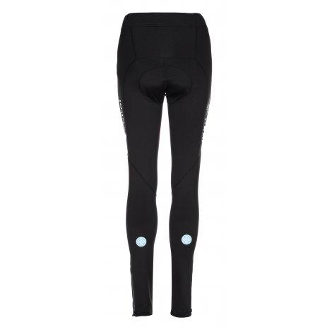 Dámské zateplené cyklistické kalhoty KILPI FERRY-W LL0067KI ČERNÁ