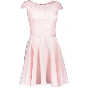 Dámské šaty NUMOCO A157-4 RŮŽOVÁ