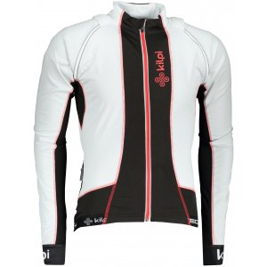 Pánská sportovní bunda/vesta KILPI ZAIN-M LM0051KI BÍLÁ