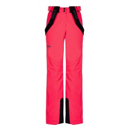 Dámské zimní kalhoty KILPI ELARE-W LL0040KI RŮŽOVÁ