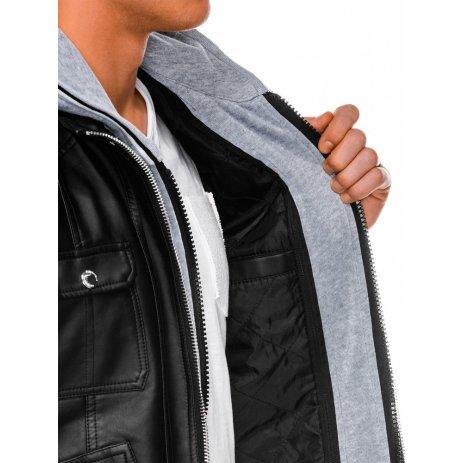 Pánská bunda OMBRE AC415 BLACK
