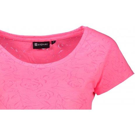 Dámské triko s krátkým rukávem ALTISPORT KREKA LTSR642 RŮŽOVÁ