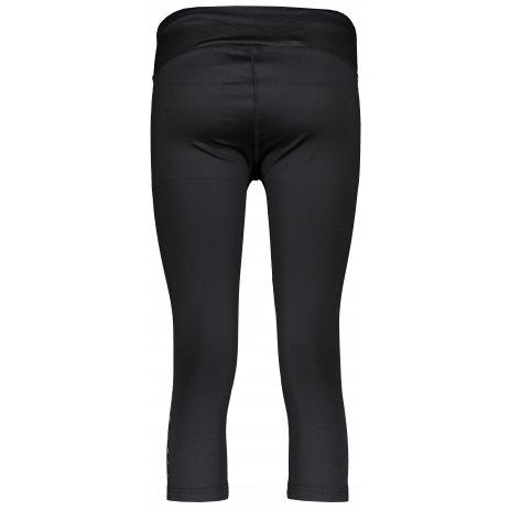Dámské 3/4 kalhoty ALPINE PRO COSIMO 4 LPAR389 ČERNÁ