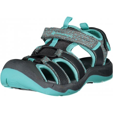 Dětské sandále ALPINE PRO JONO KBTR238 ŠEDÁ