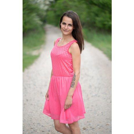 Dámské šaty KIXMI JILIANE RŮŽOVÁ