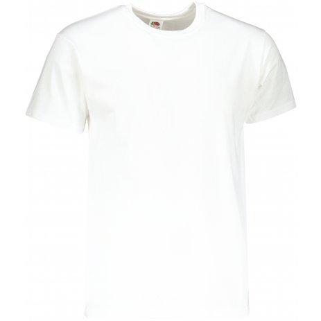 Pánské triko s krátkým rukávem FRUIT OF THE LOMM SUPER PREMIUM T WHITE