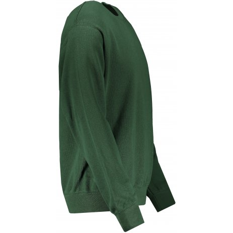 Pánská mikina FRUIT OF THE LOOM CLASSIC SET-IN SWEAT BOTTLE GREEN