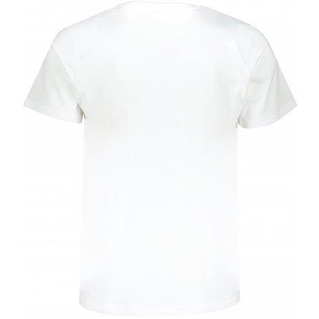 Pánské triko s krátkým rukávem SAM 73 MTSR490 BÍLÁ/TMAVĚ MODRÁ