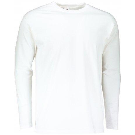 Pánské triko FRUIT OF THE LOOM SUPER PREMIUM T WHITE