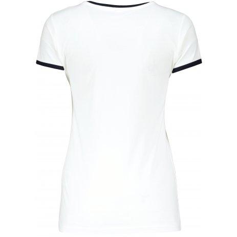 Dámské triko TEEJAYS RINGER TEE WHITE/NAVY
