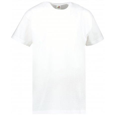 Dětské tričko FRUIT OF THE LOOM VALUEWEIGHT T WHITE