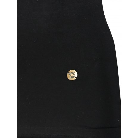 Dámské triko s krátkým rukávem KIXMI JASMINA ČERNÁ