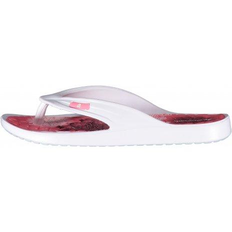 Dámské pantofle ALPINE PRO RUSAKA LBTR256 BÍLÁ