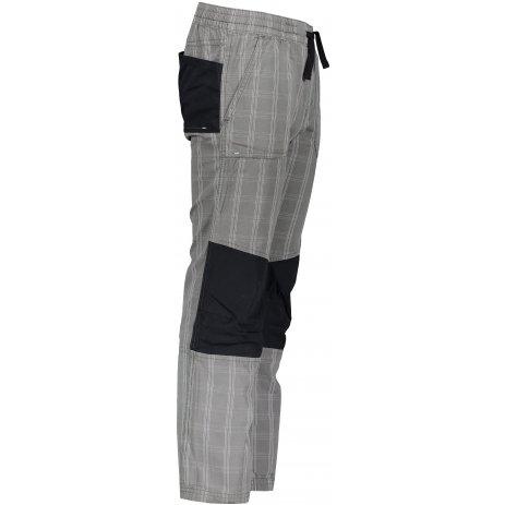 Dětské kalhoty ALPINE PRO ALSO KPAR198 ŠEDÁ