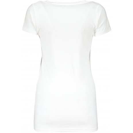 Dámské triko TEEJAYS TEE EXTRA LENGHT WHITE