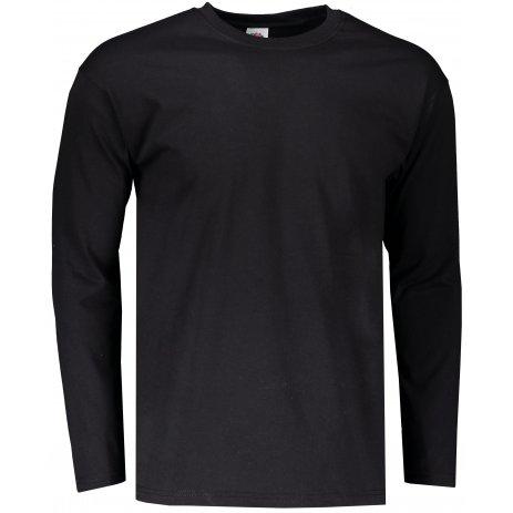 Pánské triko FRUIT OF THE LOOM SUPER PREMIUM T BLACK