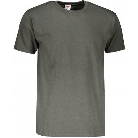 Pánské triko s krátkým rukávem FRUIT OF THE LOMM SUPER PREMIUM T LIGHT GRAPHITE