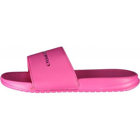 Dámské pantofle ALPINE PRO AKADA LBTR255 RŮŽOVÁ
