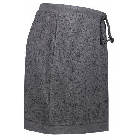 Dámská sukně ALPINE PRO BORIA LSKR272 TMAVĚ ŠEDÁ