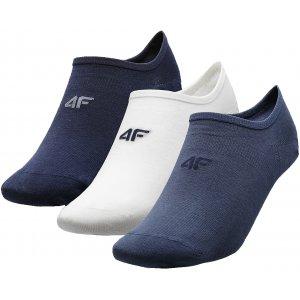 Ponožky 4F NOSD4-SOM300 NAVY/WHITE/MIDDLE GREY