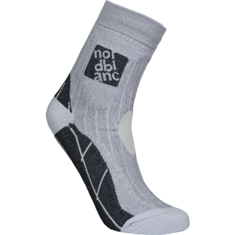 Ponožky NORDBLANC NBSX16379 SVĚTLE ŠEDÝ MELÍR