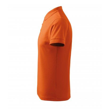 Pánské triko s límečkem MALFINI PIQUE POLO 203 ORANŽOVÁ