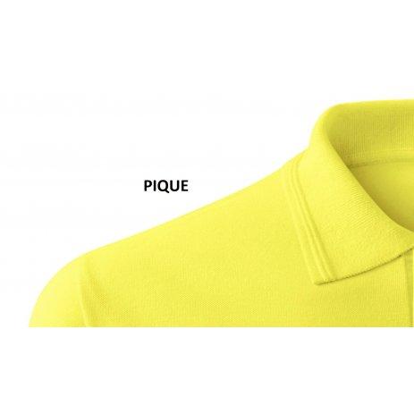 Dámské triko s límečkem MALFINI PIQUE POLO 210 CITRONOVÁ