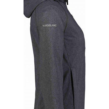 Dámská softshellová bunda/vesta NORDBLANC DISPENSE NBSSL7176 GRAFITOVÝ MELÍR