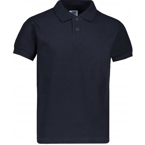 Dětské triko s límečkem JHK KID POLO NAVY