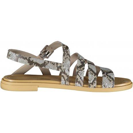 Dámské sandále CROCS TULUM SANDAL W 206107-15W MUSHROOM/STUCCO