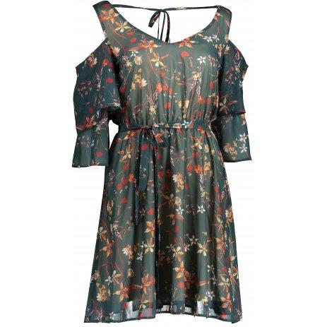 Dámské šaty NUMOCO A292-2 ZELENÁ