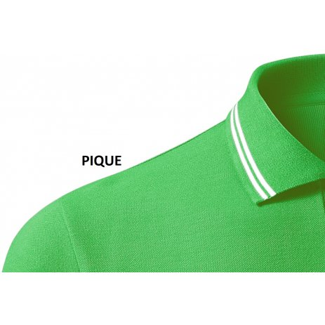 Pánské triko s límečkem MALFINI URBAN 219 APPLE GREEN