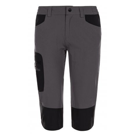 Dámské 3/4 kalhoty KILPI OTARA-W ML0134KI TMAVĚ ŠEDÁ