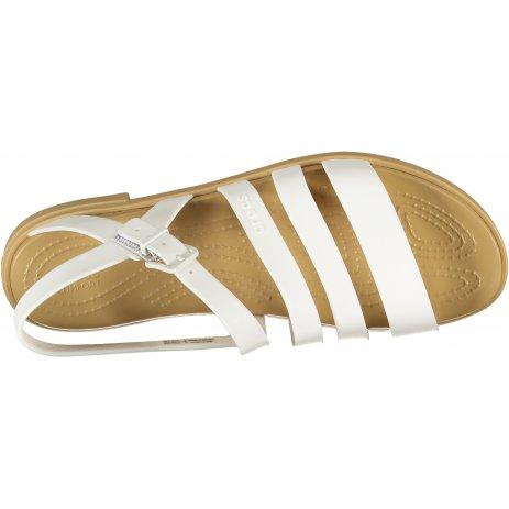 Dámské sandále CROCS TULUM SANDAL W 206107-1CQ OYSTER/TAN