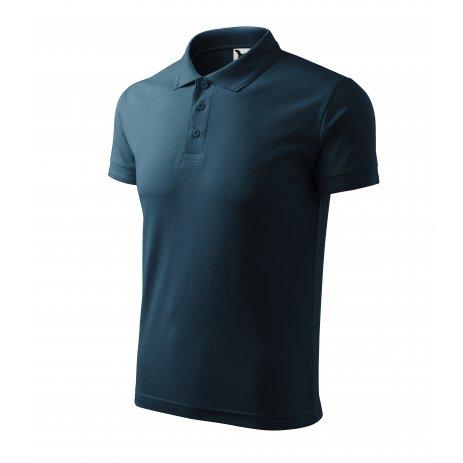 Pánské triko s límečkem MALFINI PIQUE POLO 203 NÁMOŘNÍ MODRÁ