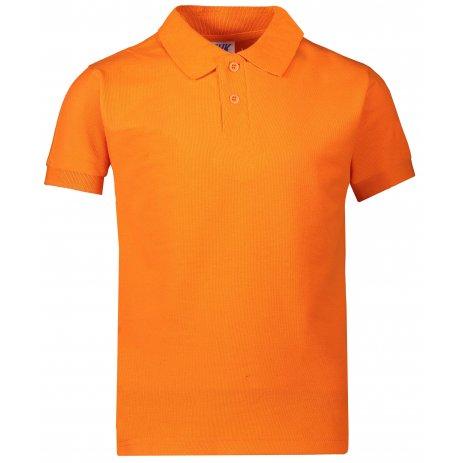 Dětské triko s límečkem JHK KID POLO ORANGE