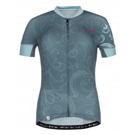 Dámský cyklistický dres KILPI ORETI-W ML0041KI MODRÁ