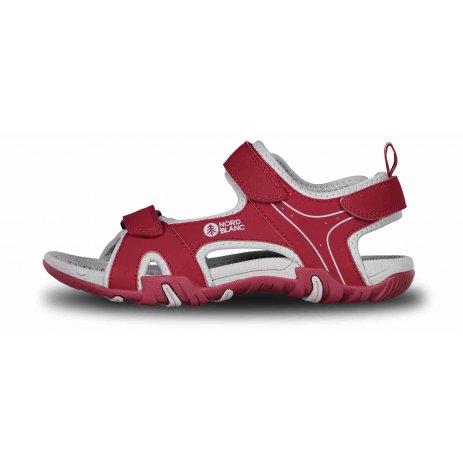 Dámské sandále NORDBLANC SLACK NBSS68 TMAVĚ ČERVENÁ