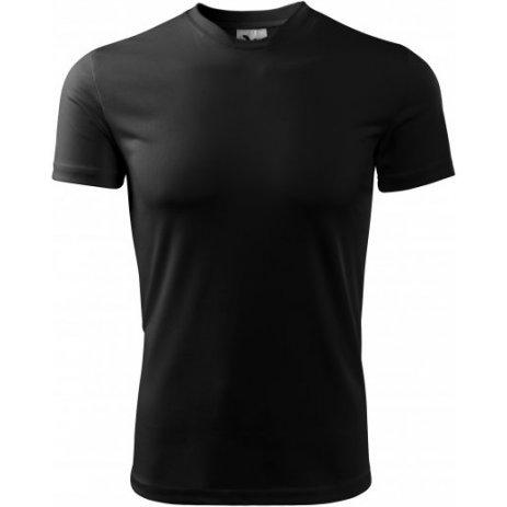 Pánské funkční triko MALFINI FANTASY 124 ČERNÁ