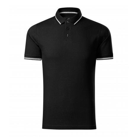 Pánské triko s límečkem MALFINI PREMIUM PERFECTION PLAIN 251 ČERNÁ