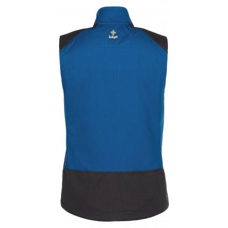 Pánská softshellová vesta KILPI TOFANO-M MM0016KI TMAVĚ MODRÁ